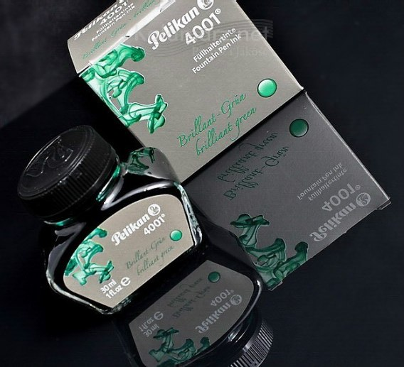 ATRAMENT Pelikan 4001 Brilliant Green - zielony 30 ml