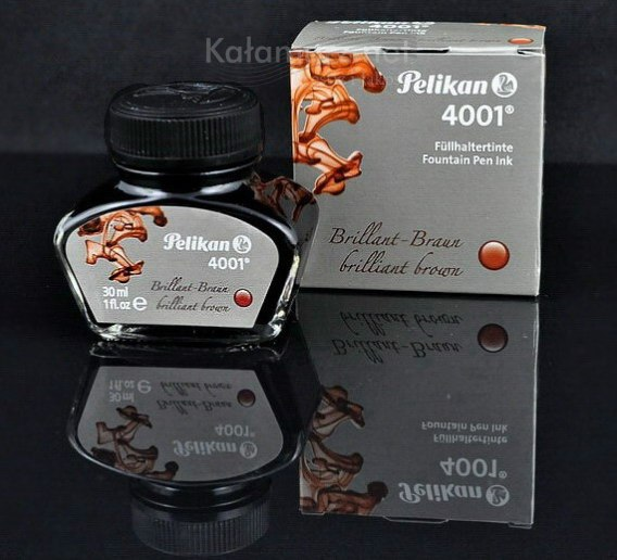 ATRAMENT Pelikan 4001 Brilliant Brown - brązowy 30 ml