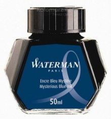ATRAMENT Waterman BLUE-BLACK/MYSTERIOUS BLUE - niebiesko-czarny 50 ml