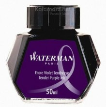 ATRAMENT Waterman PURPLE/TENDER PURPLE - fiolet 50 ml