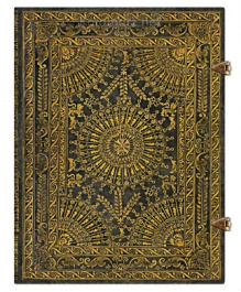 NOTES PAPERBLANKS BAROQUE VENTAGLIO MARRONE ULTRA LINIE