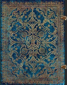 NOTES PAPERBLANKS EQUINOXE AZURE MIDI Gładki