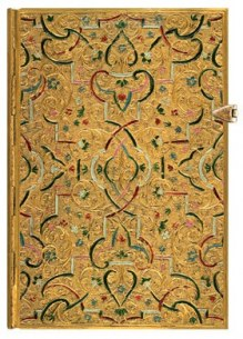 NOTES PAPERBLANKS GOLD INLAY MIDI LINIE