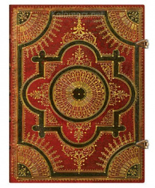 NOTES PAPERBLANKS BAROQUE VENTAGLIO ROSSO ULTRA LINIE