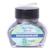 ATRAMENT STANDARDGRAPH - SILVER/SREBRNY 30 ML