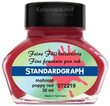 ATRAMENT STANDARDGRAPH - POPPY RED/KWIAT MAKU 30 ML
