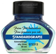 ATRAMENT STANDARDGRAPH - SKY BLUE/BŁĘKITNY 30 ML