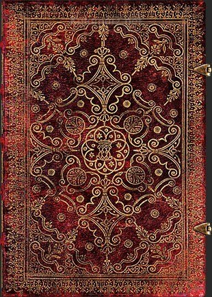 NOTES PAPERBLANKS EQUINOXE CARMINE ULTRA Linie