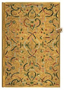 NOTES PAPERBLANKS GOLD INLAY MINI LINIE