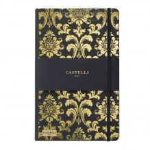 NOTATNIK NOTES CASTELLI IVORY GOLD - BAROK