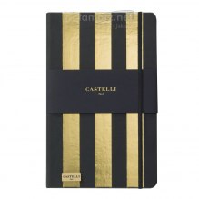 NOTATNIK NOTES CASTELLI IVORY GOLD - PASY