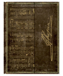 NOTES PAPERBLANKS Embellished Manuscripts Collection CHOPIN POLONAISE ULTRA LINIE
