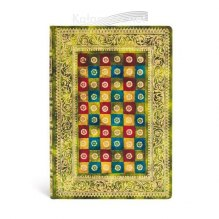 NOTES PAPERBLANKS Venetian Mornings Collection VERDE MIDI LINIE