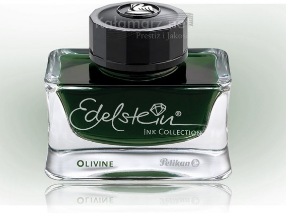 ATRAMENT Pelikan EDELSTEIN OLIVINE - INK OF THE YEAR 2018 - oliwkowy 50 ml
