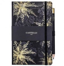 NOTATNIK NOTES CASTELLI IVORY Midnight Floral - WRZOS