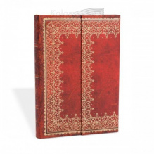 NOTES PAPERBLANKS OLD LEATHER FOILED MIDI LINIE