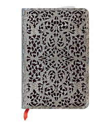 NOTES PAPERBLANKS SILVER FILIGREE SHADOW MINI CLASSIC LINIE